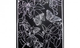 Butterfly Panel Black