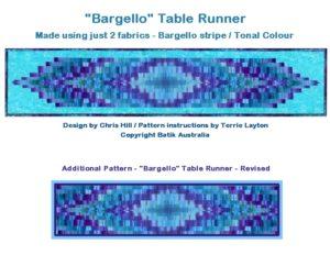 Pattern - Bargello Tablerunner