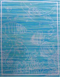 Reef Panel Sky Blue